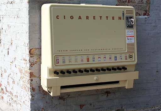 Zigarettenautomat Trick