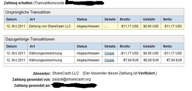 Zahlungsnachweis überweisung