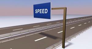 Geschwindigkeiten auf der Daten-Autobahn (Bild: Maik Schwertle / pixelio.de)