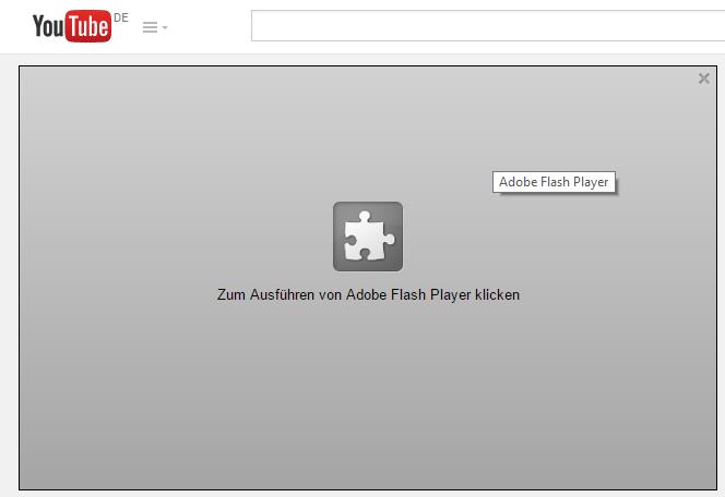 Mit Click-to-Play müssen Plugin-Inhalte wie Videos explizit vom Nutzer erlaubt werden