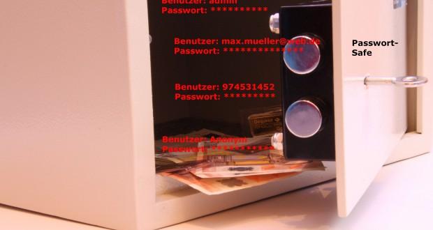 Zugangsdaten sicher, übersichtlich und zentral im Passwort Safe ablegen (Bild: Thorben Wengert / pixelio.de)