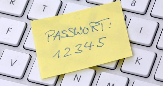 """""""12345"""" gehört zu den am häufigsten verwendeten Passwörtern im Internet (Bild: Tim Reckmann / pixelio.de)"""