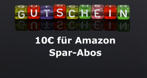 Amazon bietet 10€ Rabatt auf Erstbestellungen der Sparabos (Bild: Tim Reckmann / pixelio.de)