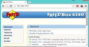 Die Weboberfläche von Routern ist ein nützliches Werkzeug