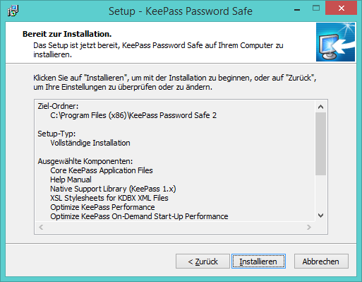 Keepass Deutsch