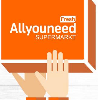 """Online bei """"Allyouneed fresh"""" einkaufen und mit einem 10€ Gutschein sparen"""