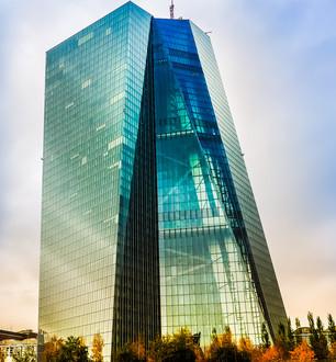 Tower der Europäischen Zentralbrank in Frankfirt am Main (Bild: Günther Heinemann / pixelio.de)