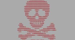 """Dieses Logo zeigt der neue Trojaner """"Petya"""", nachdem er den gesamten PC verschlüsselt hat."""