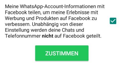 Die neuen Datenschutzerklärungen von WhatsApp sind Nachteilig für Sicherheit und Datenschutz des Nutzers