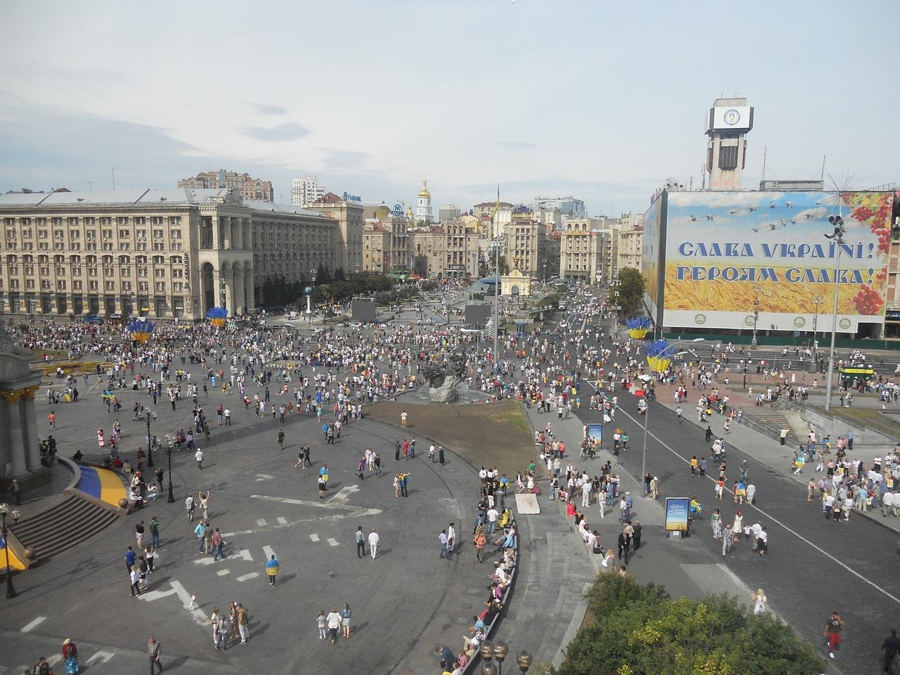 """Auf dem Maidan in Kiew kam es 2014 zum """"blutigen Donnerstag"""""""